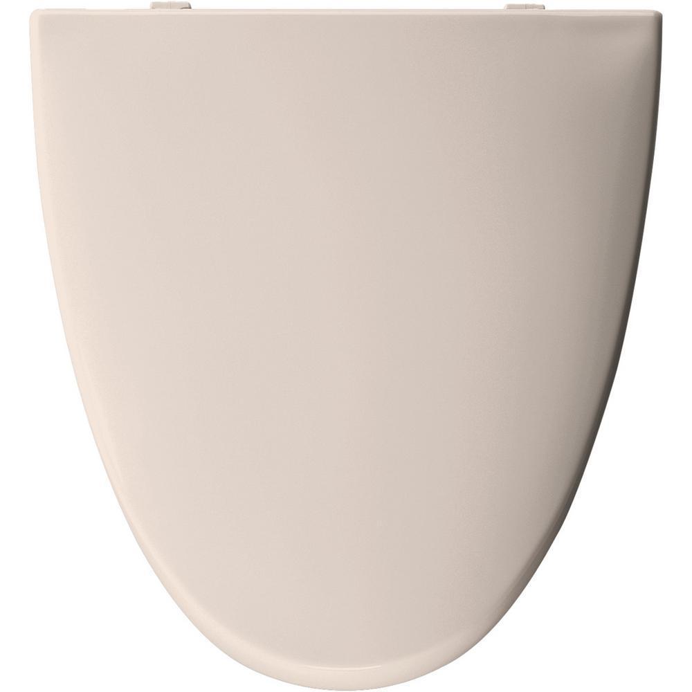 Marvelous Elongated Closed Front Toilet Seat In Shell Creativecarmelina Interior Chair Design Creativecarmelinacom