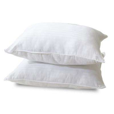Quiet Sleep Gel Fiber Standard Pillow (2-Pack)