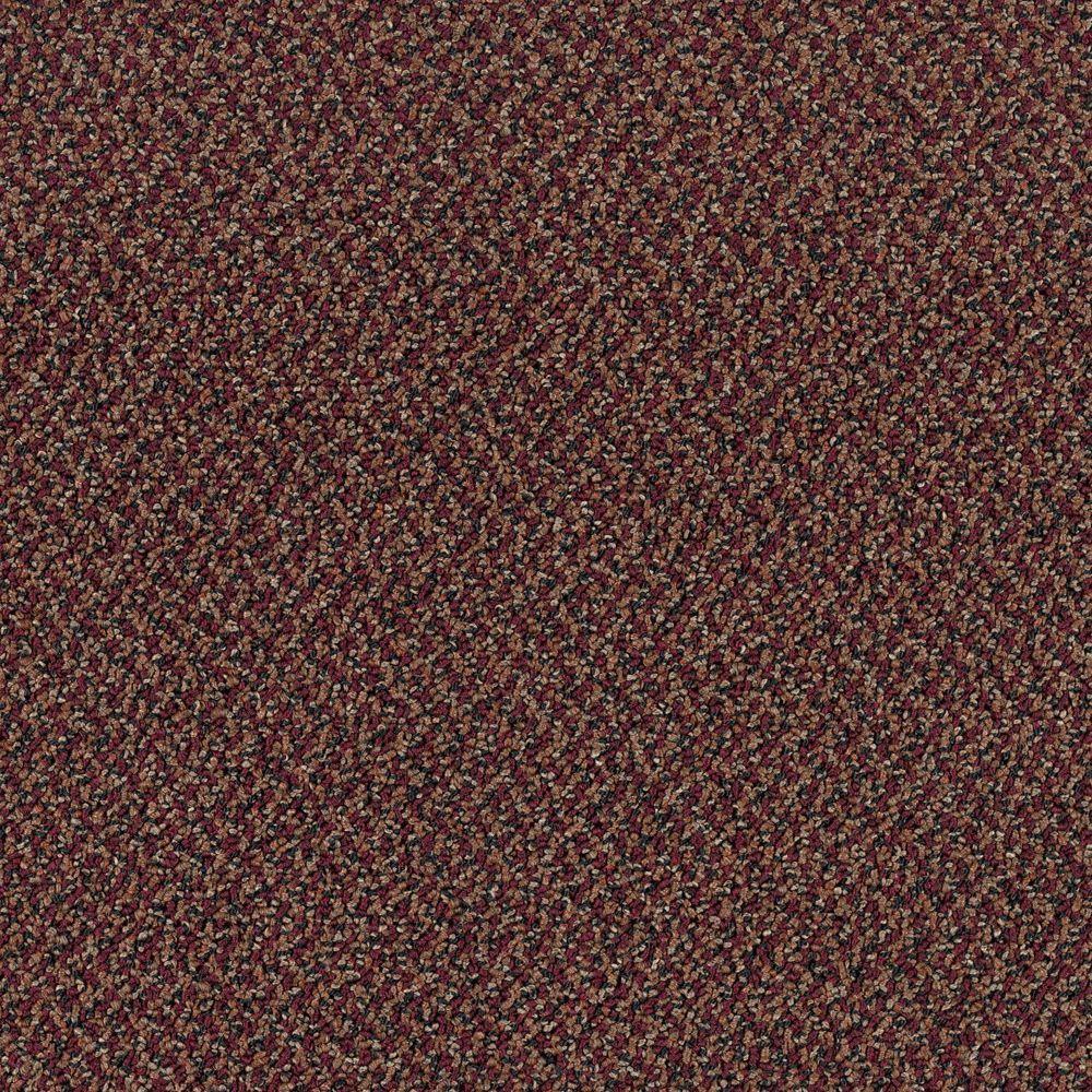 TrafficMASTER Difference Maker - Color Scarlet Loop 12 ft. Carpet