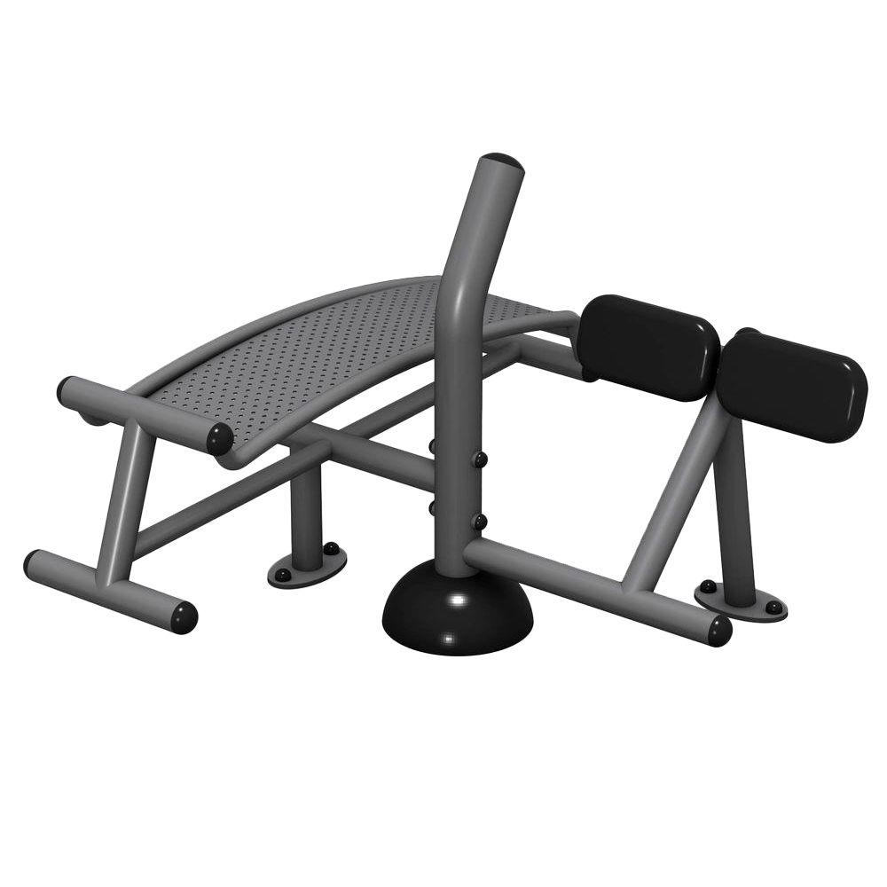 Ultra Play Surface Mount Sit-Up/Back Extension