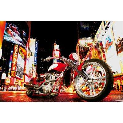 45 in. x 69 in. Midnight Rider Wall Mural