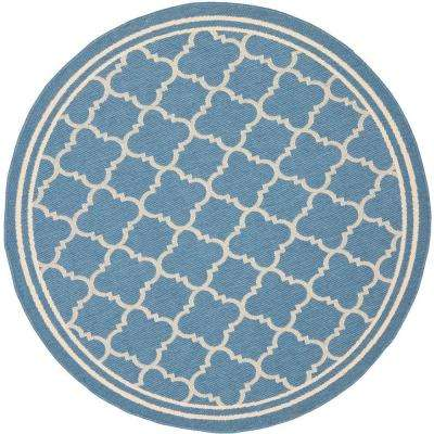 round 7' and larger - round - outdoor rugs - rugs - the home depot