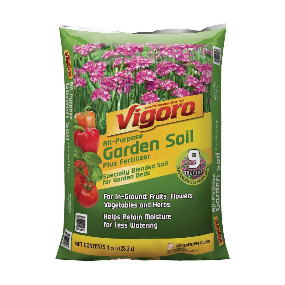 Vigoro 1 cu. ft. Garden Soil Deals