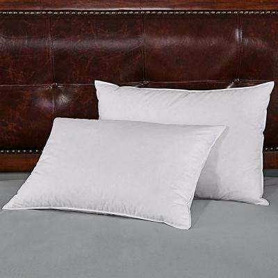 Down-Proof King Feather and Down Pillow (Set of 2)