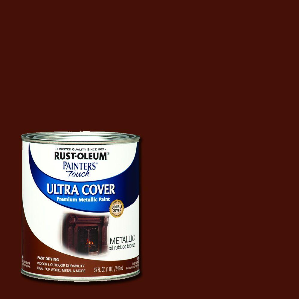 Rust-Oleum Painter's Touch 32 oz. Ultra Cover Metallic Oil Rubbed Bronze General Purpose