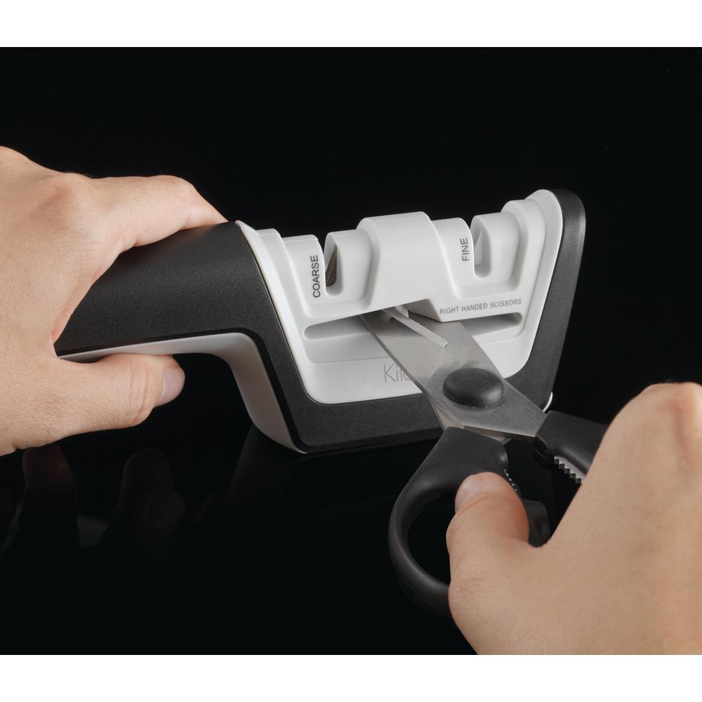 KitchenIQ-Pro Diamond and Ceramic Manual Knife Sharpener