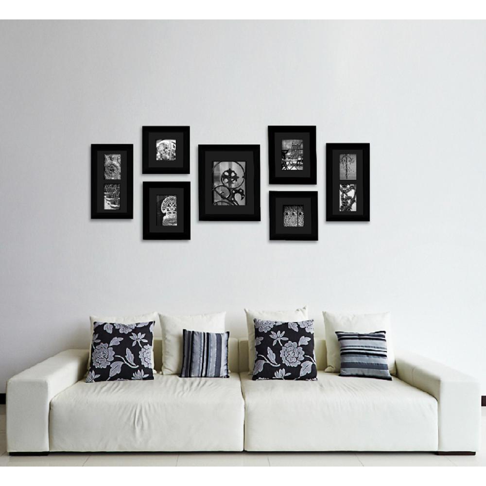 Wood - Wall Frames - Wall Decor - The Home Depot