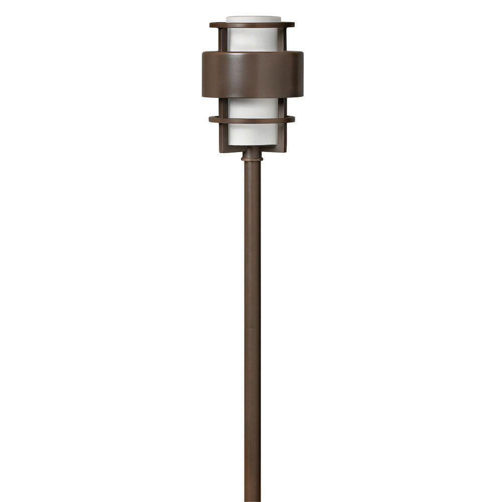 Hinkley Lighting Low-Voltage 18-Watt Metro Bronze Saturn Path Light