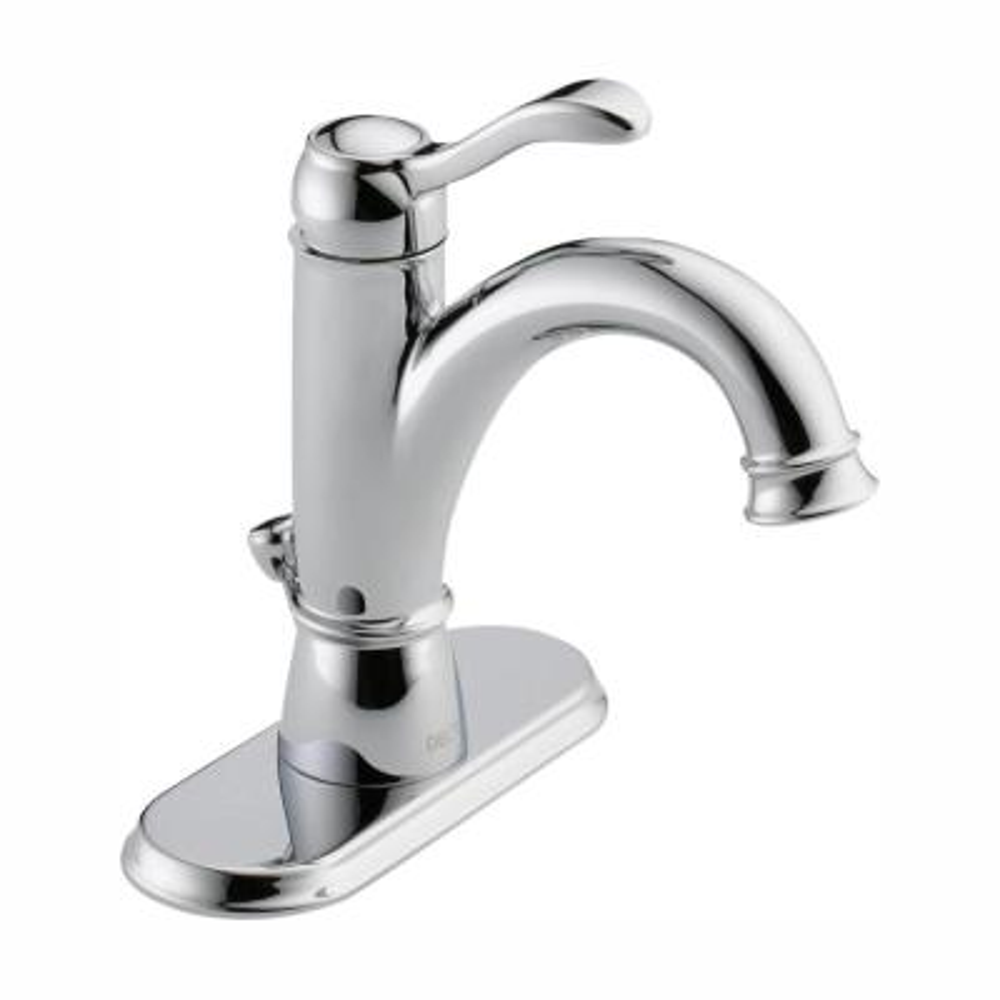 Porter Single Hole Single-Handle Bathroom Faucet in Chrome