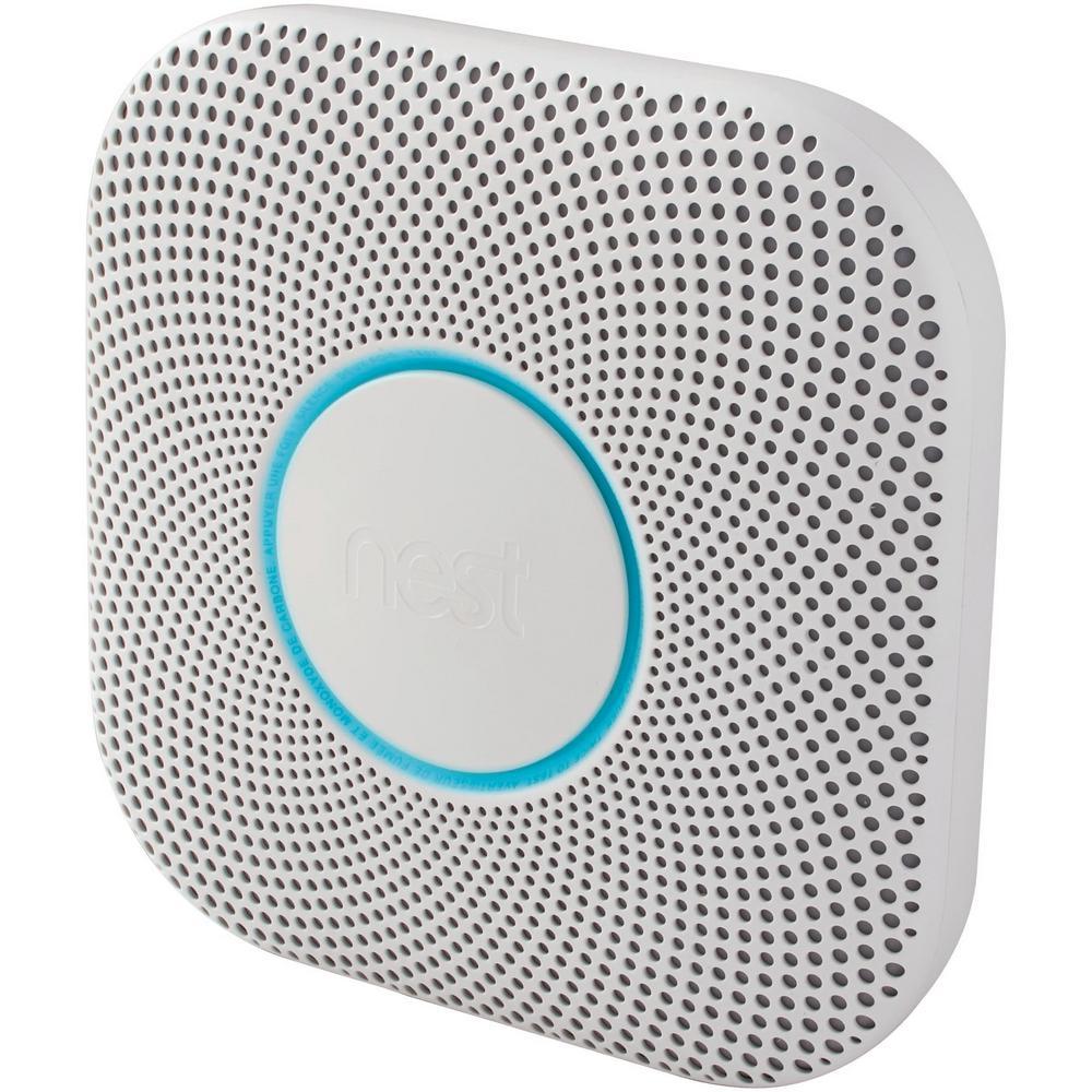 Original Nest Pro S3004PWBUS Nest Protect Smoke and CO Alarm White