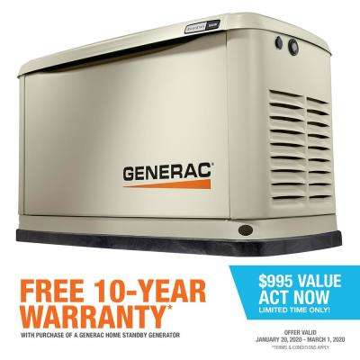 Guardian 16000-Watt Air-Cooled Home Standby Generator with Wi-Fi