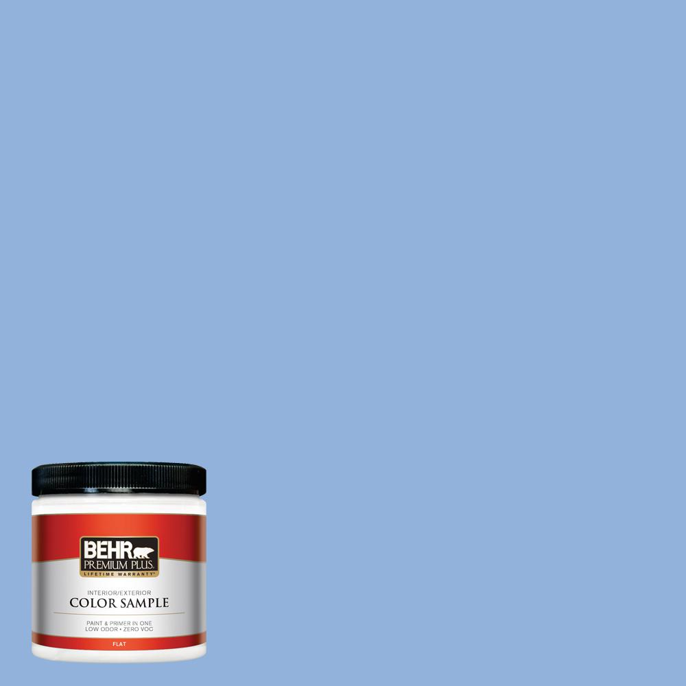 Ppu15 12 Bluebird Flat Interior Exterior Paint And Primer In One Sample