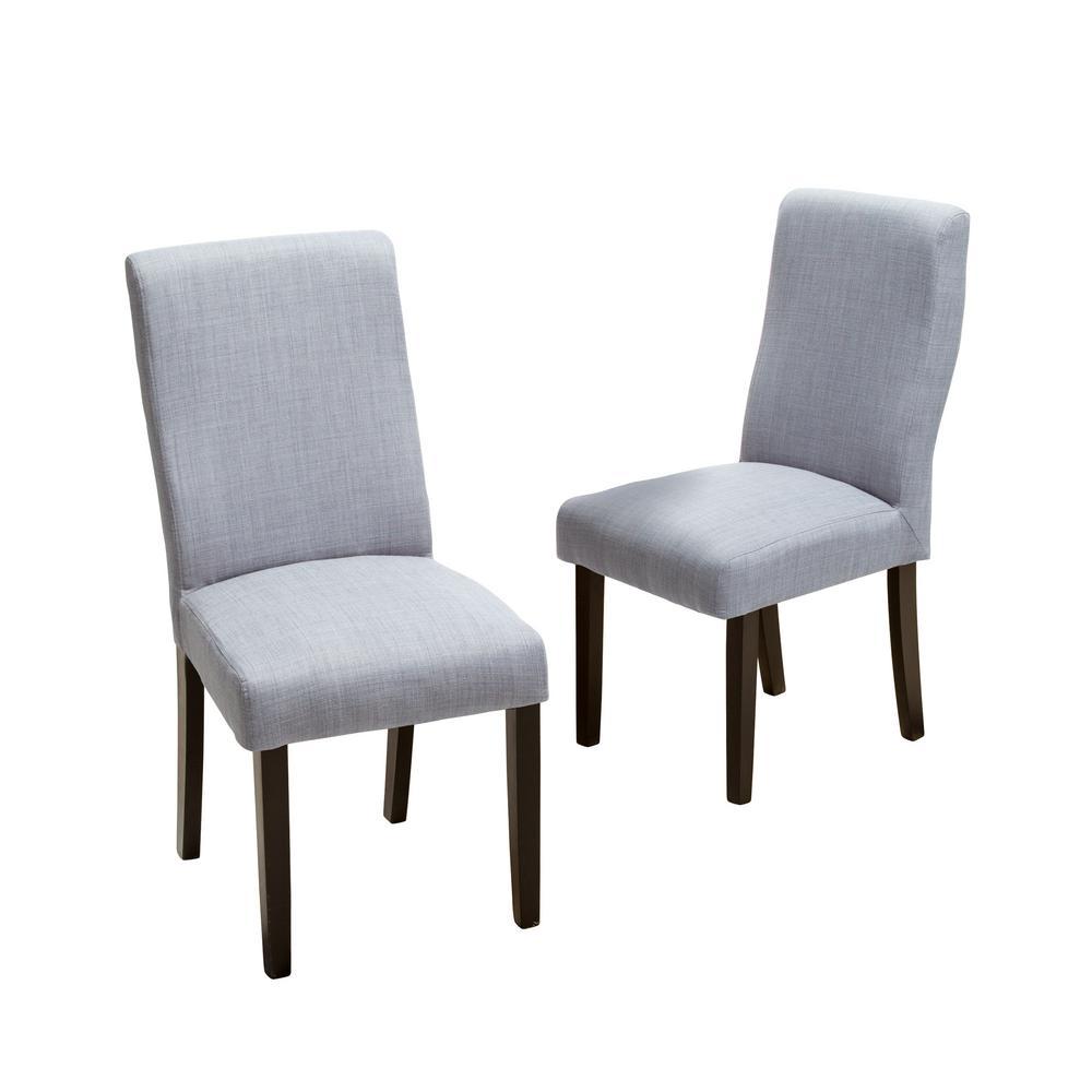 Corbin Grey Fabric Dining Chair (Set of 2)