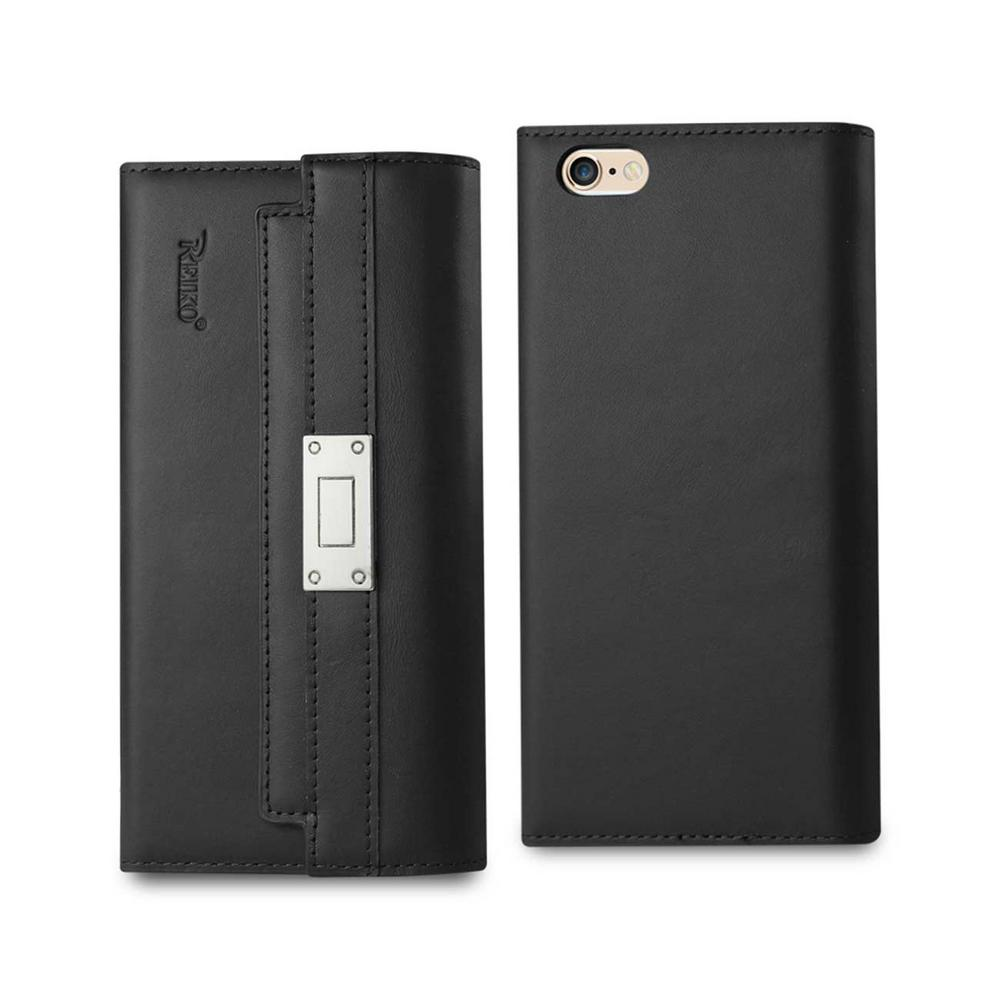 iPhone 6 Plus/6S Plus Genuine Leather Design Case in Black