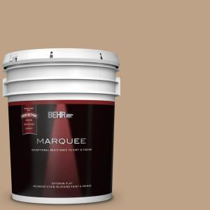 Behr Marquee 5 Gal 750c 3 Sandstone Cliff Flat Exterior Paint And Primer In One 445405 The Home Depot