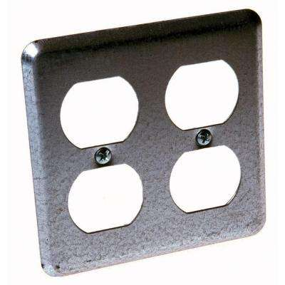 2-Device Wall Plate for Duplex Devices