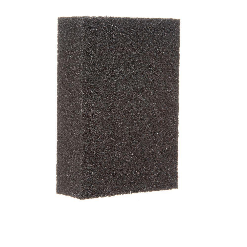 3M 80 Grit Fine to Medium All-Purpose Drywall Sanding Sponge (2-Pack)