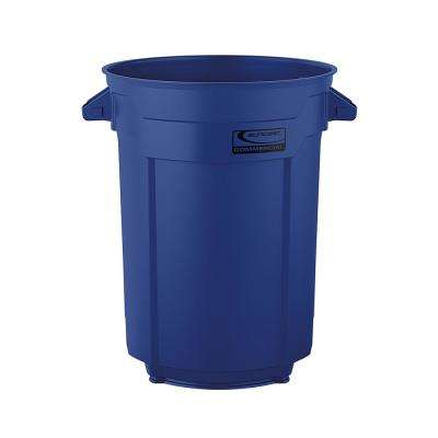 55 Gal. Blue Commercial Trash Can