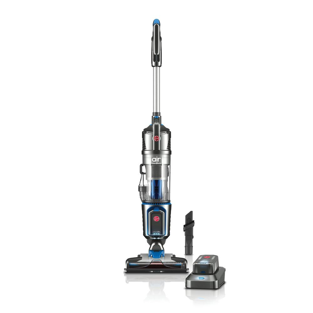 Hoover Air Cordless Series 20-Volt Bagless Upright Vacuum Cleaner, Grays