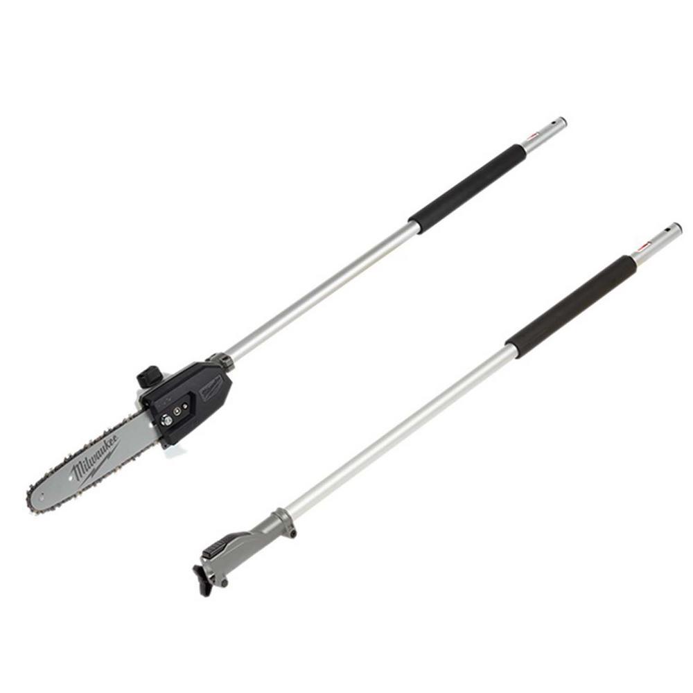 M18 FUEL QUIK-LOK 10 in. Pole Saw Attachment with QUIK-LOK 3 ft. Attachment Extension