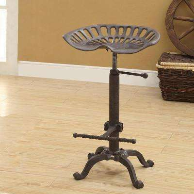 Tractor Seat Adjule Height Bar Stool