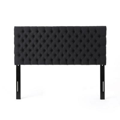 Jezebel Dark Charcoal Queen/Full Headboard
