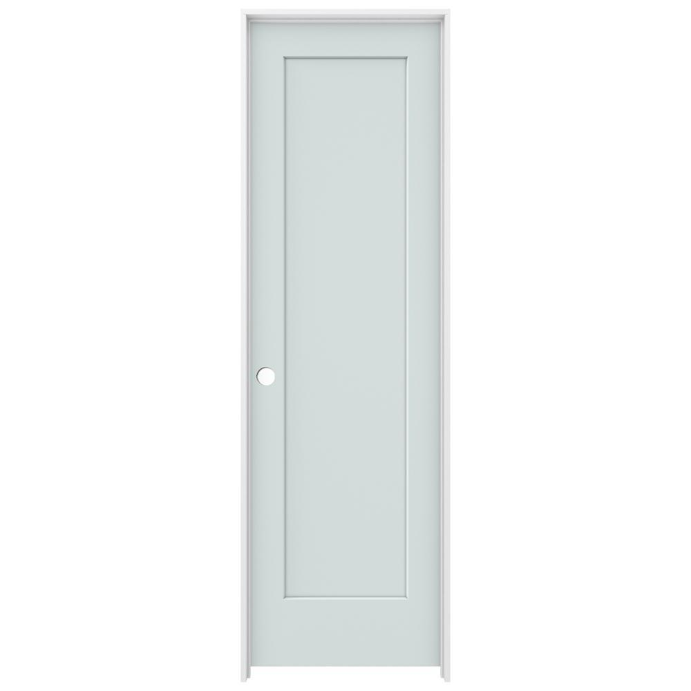 Jeld Wen 24 In X 80 In Madison Light Gray Right Hand