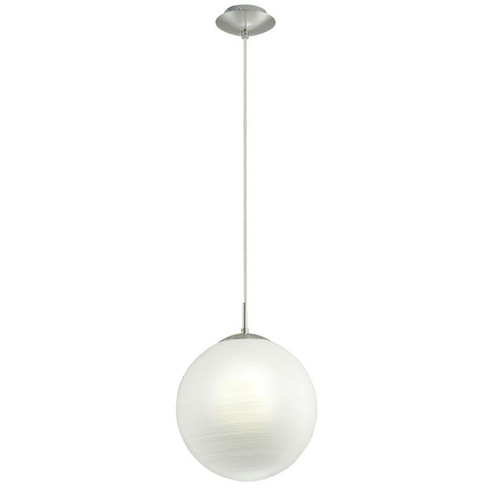 Milagro 1-Light Chrome Hanging Pendant