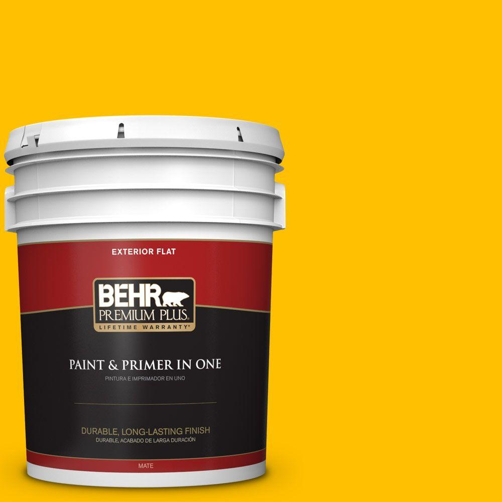 5-gal. #360B-7 Center Stage Flat Exterior Paint