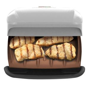 Click here to buy George Foreman Fixed Plate Indoor Grill by George Foreman.