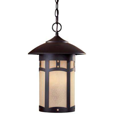 Harveston Manor Dorian Bronze 3-Light Hanging Lantern