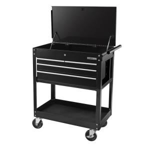 OLYMPIA 26 inch 4-Drawer Roller Cabinet Tool Chest, Black by OLYMPIA