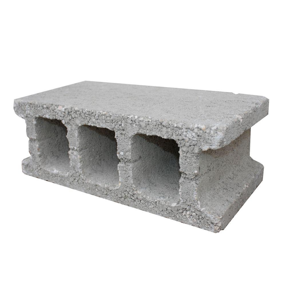 Unbranded 6 In X 8 In X 16 In Concrete Block Bc002 The Home Depot