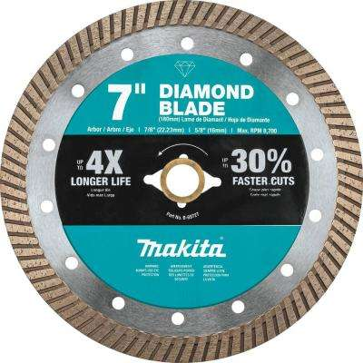 7 in. Turbo Rim Diamond Blade for General Purpose