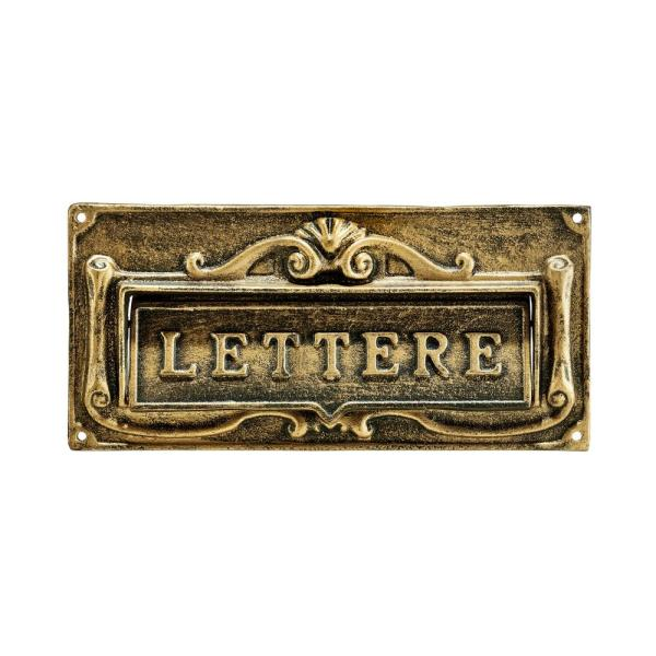 Mail Slot Cover Brass