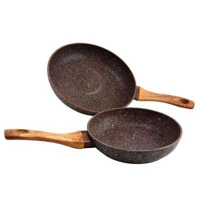 Orestano 2-Piece Aluminum Frying Pan Set