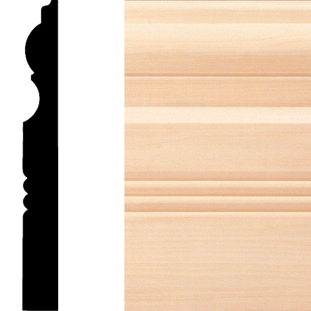 Oak Baseboard Moulding The Home Depot