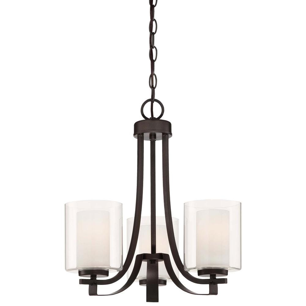 Minka lavery parsons studio 3 light brushed nickel mini chandelier this review is fromparsons studio 3 light smoked iron chandelier arubaitofo Choice Image