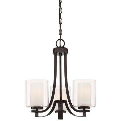 Parsons Studio 3-Light Smoked Iron Chandelier