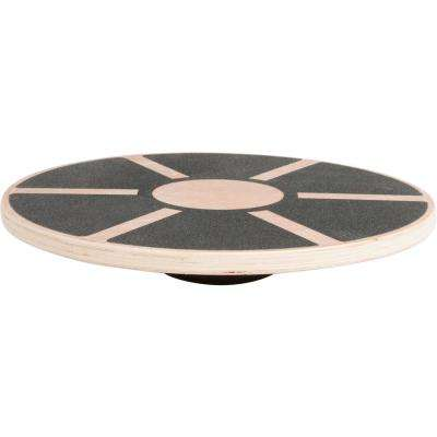 15.5 in. Tan Wood Wobble Balance Board Balance Trainer
