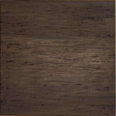 Hand Scraped Strand Woven Mushroom 1/2 in. T x 15-3/8 in. W x 15-3/8 in. L Engineered Click Bamboo Tile Flooring