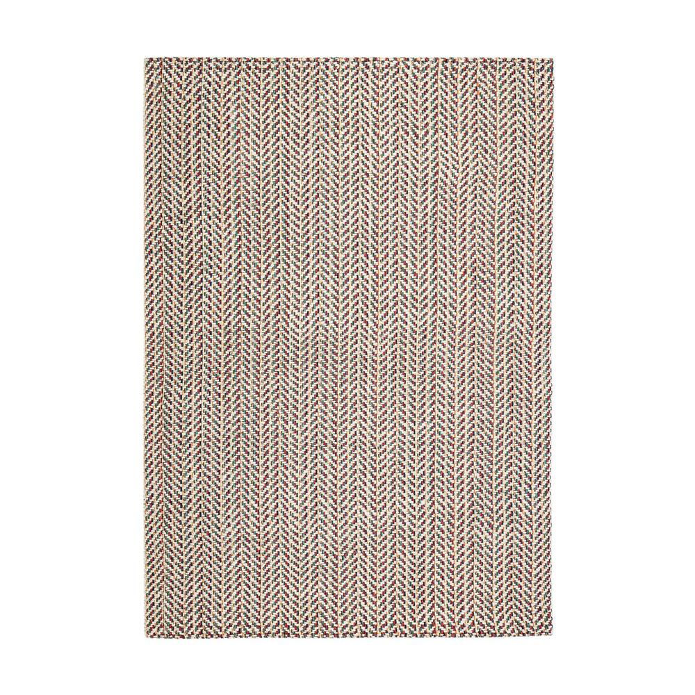 Ruby P Multicolored 5 ft. x 8 ft. Area Rug