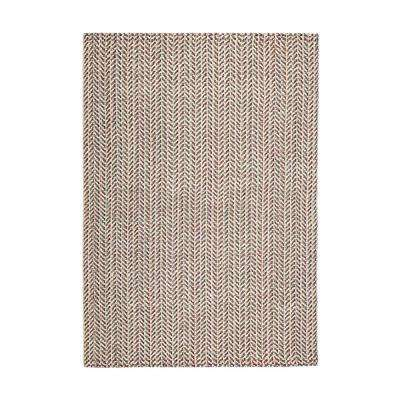 Ruby P Multicolored 2 ft. 6 in. x 8 ft. Area Rug