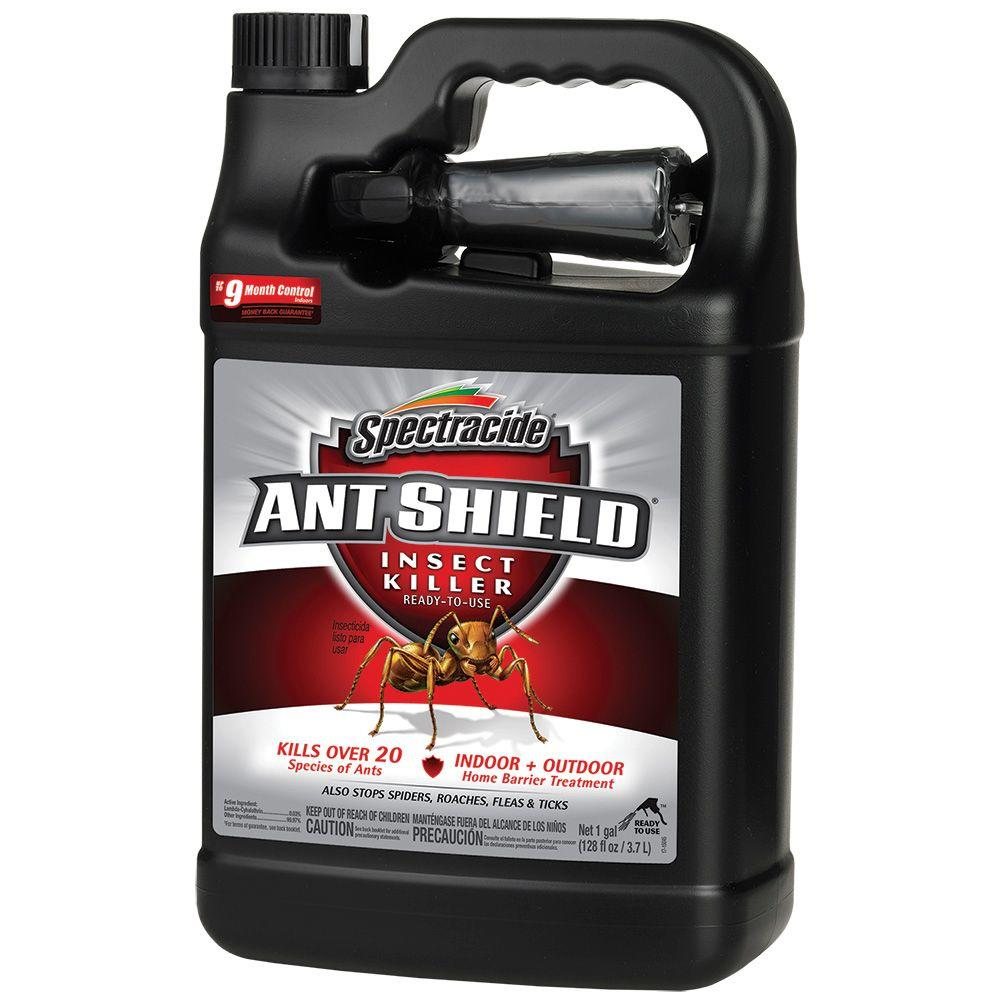 spectracide ant shield 1 gal ready to use insect killer hg 51301 5 the home depot. Black Bedroom Furniture Sets. Home Design Ideas