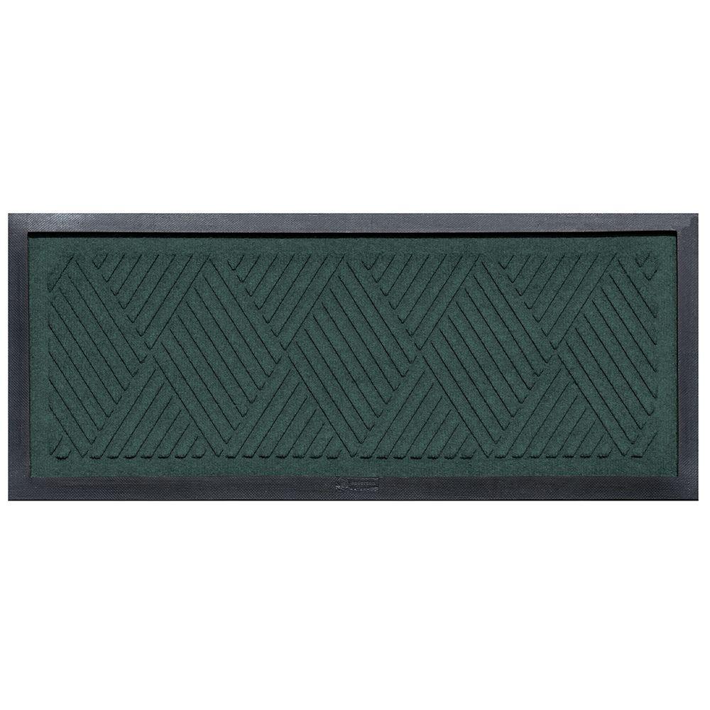 Aqua Shield Aqua Shield Evergreen 15 in. x 36 in. Diamonds Boot Tray