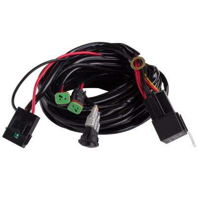 Wiring Harness-2-Light with Quick Change Plug