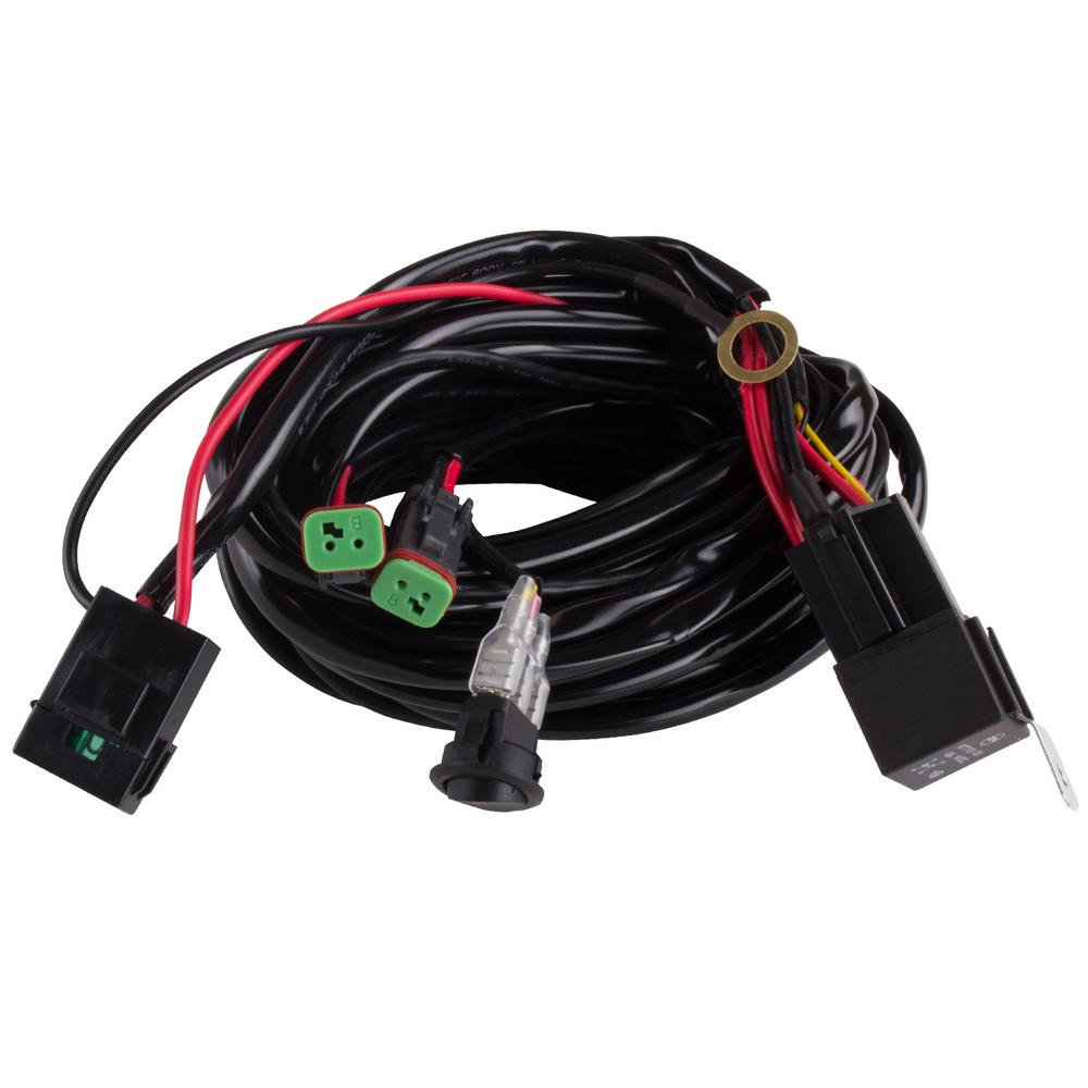 Blazer International Wiring Harness-2-Light with Quick Change Plug on