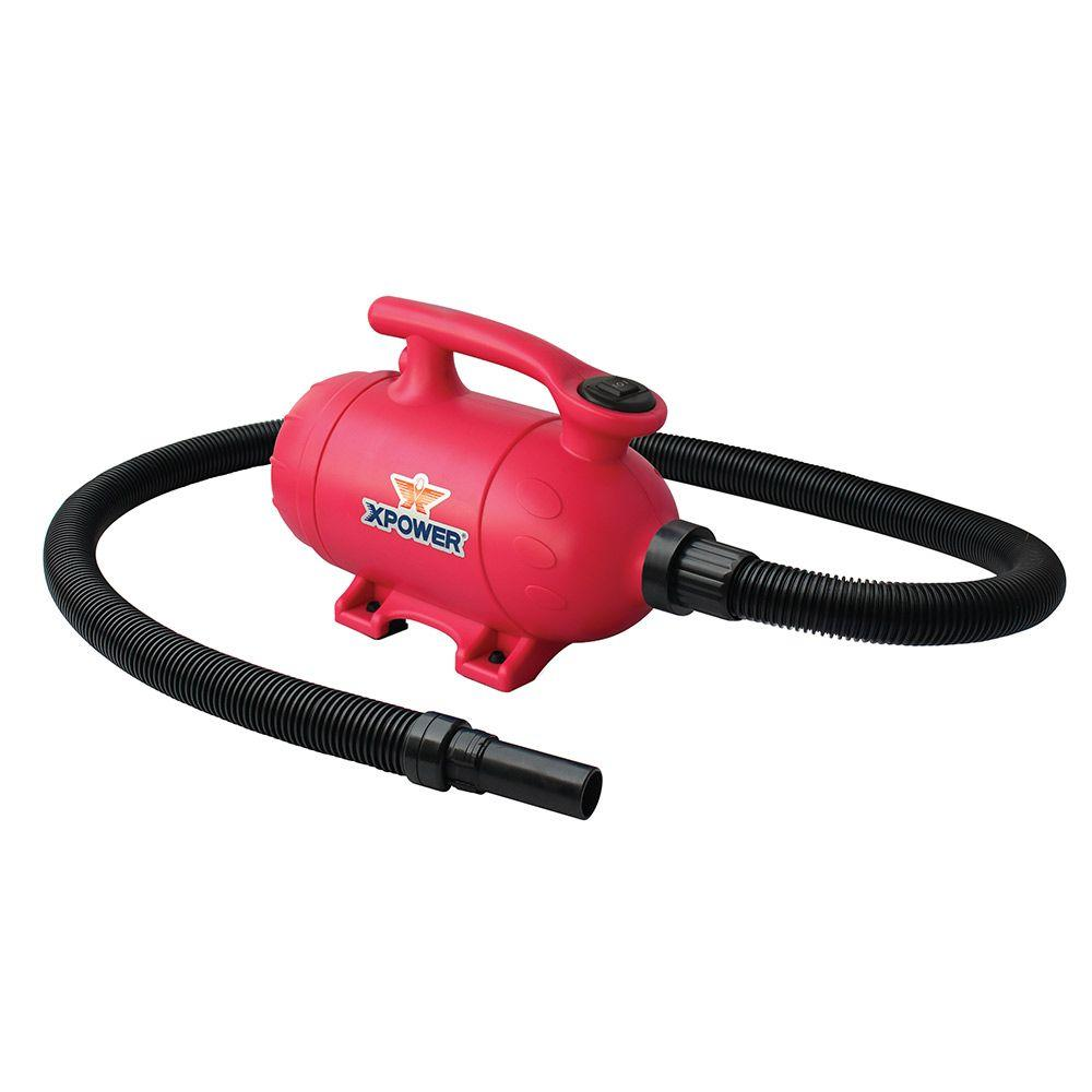 XPOWER 2 HP Pink Pro-At-Home Pet Dryer with Vacuum