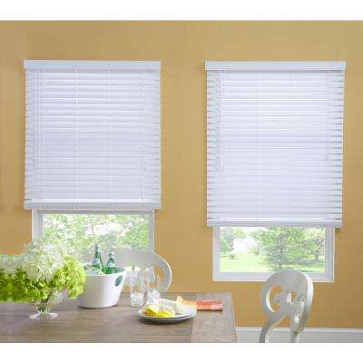 Faux Wood Blinds Blinds The Home Depot