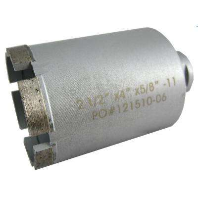 2-1/2 in. Wet Diamond Core Bit for Stone Drilling